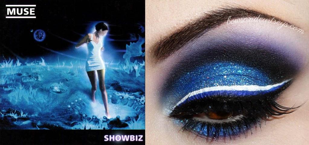 Muse Album Art Inspired Makeup - Showbiz | Link to full ... Kanye West