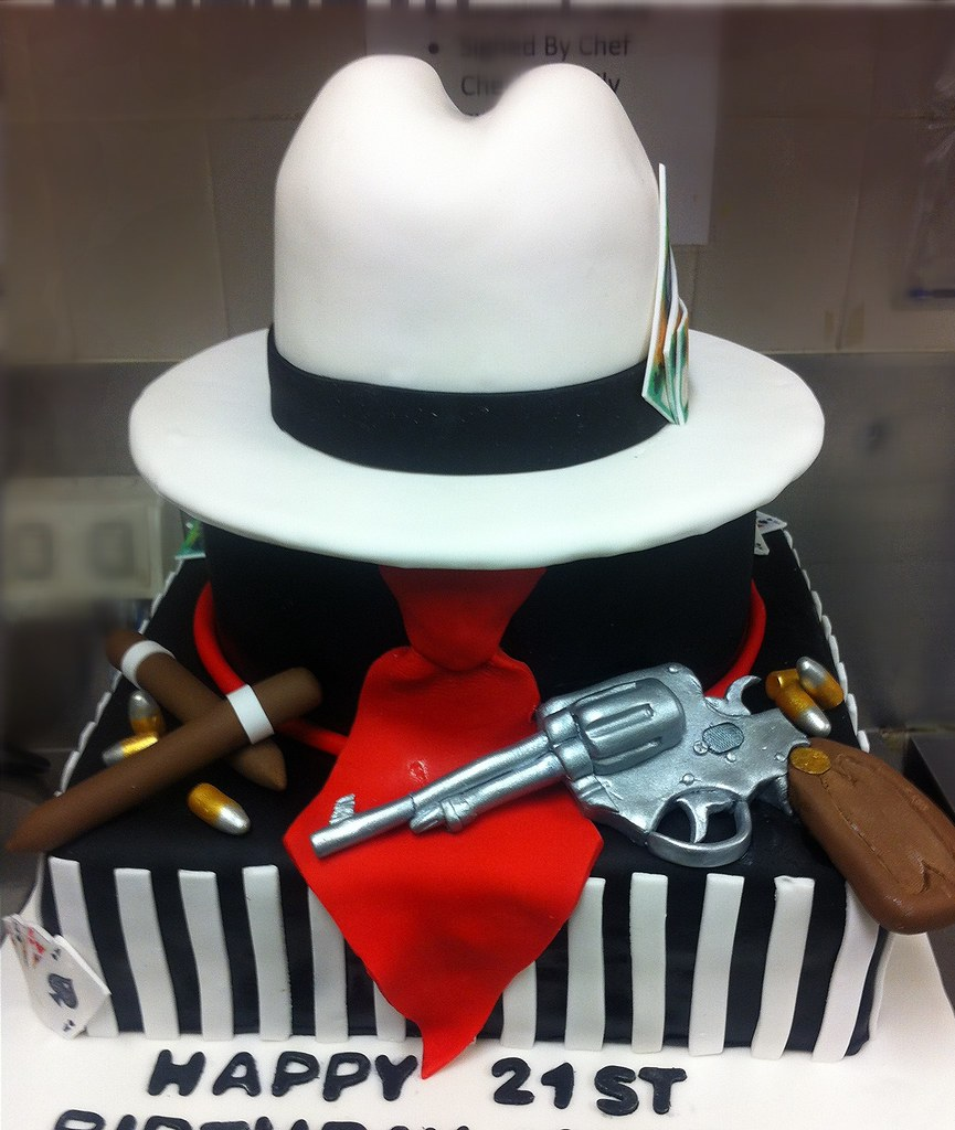 Gangster Birthday Cake Ideas