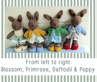 Little Knitted Bunnies | by Bustle & Sew