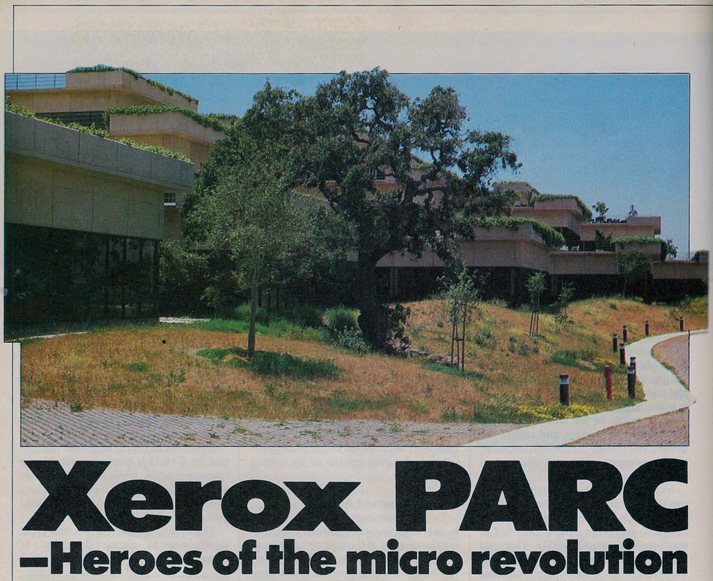 Xerox Parc Heroes Of The Micro Revolution From
