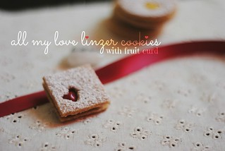 Linzer Cookies | by Lan | MoreStomachBlog