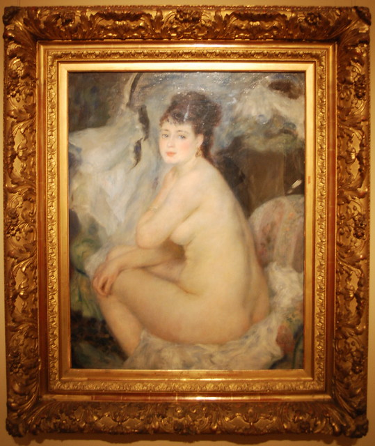 Nude Woman Sitting On A Couch Anna