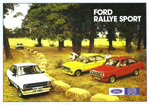 1977 Ford Escort Rallye Sports (UK) p1 | by IFHP97