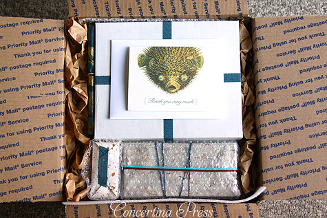 Nautical wedding invitation packaging I love pretty packag Flickr