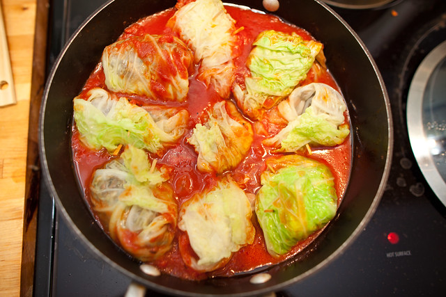Vegan Italian Stuffed Cabbage | Flickr - Photo Sharing!