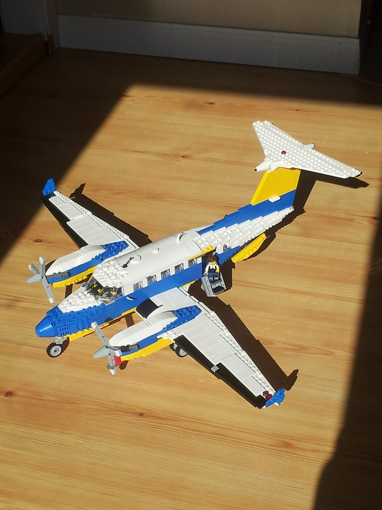 Lego Airplane King Air Want To See This Produced And