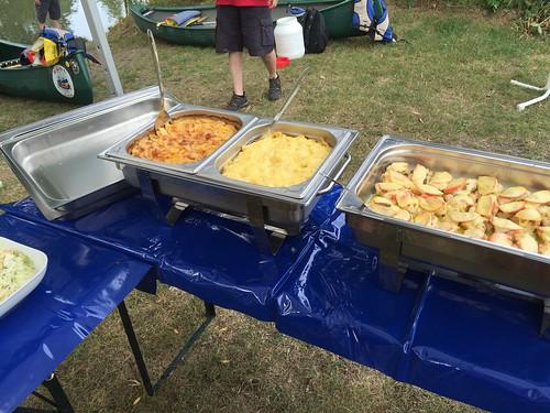 Buffet - Chicken, Noodles & Potato gratin
