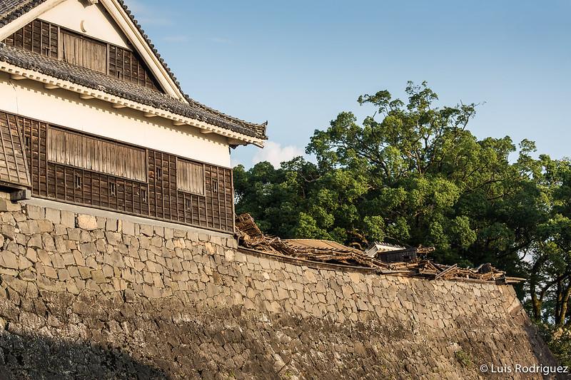 Castillo Kumamoto Terremoto-50