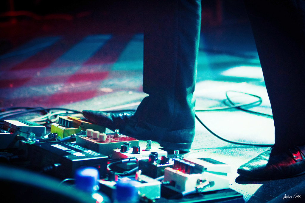 Guitar Pedals Photography Paul Banks Guitar Pedals