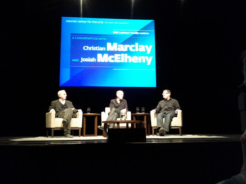 Christian marclay and josiah mcelheny, mershon auditorium | by asterix77