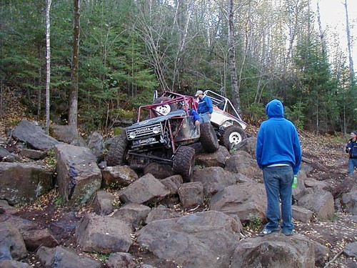 4x4 Trail In The Black Hills Rock Crawling Trail In The