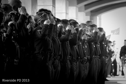 Riverside Police Officer Michael Crain Memorial Service at The Grove | by DetectiveGreg