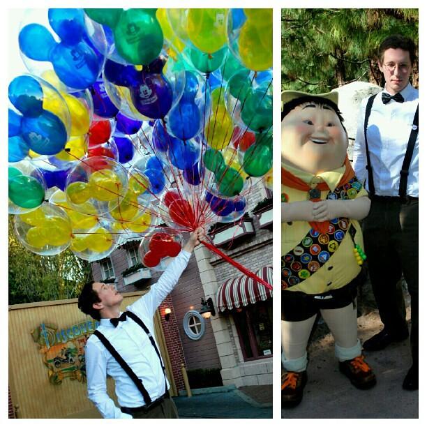 Disneyland Dca Disneybound Up Carl Russell Balloons