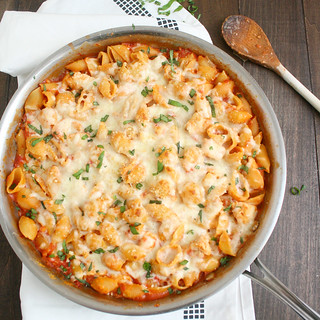 Chicken Parmesan Baked Pasta | by Tracey's Culinary Adventures