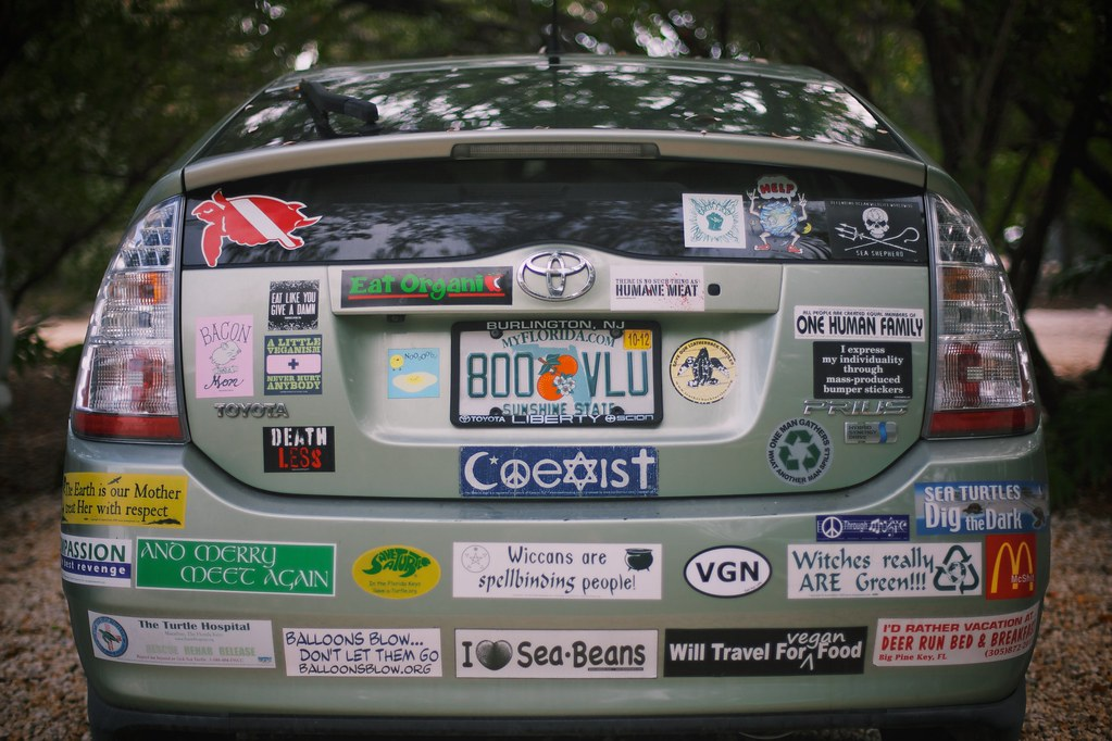 Bumper Stickers For Prius