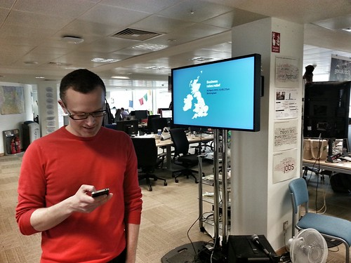 As good as real time data with @benterrett and @gdsteam | by rossferguson