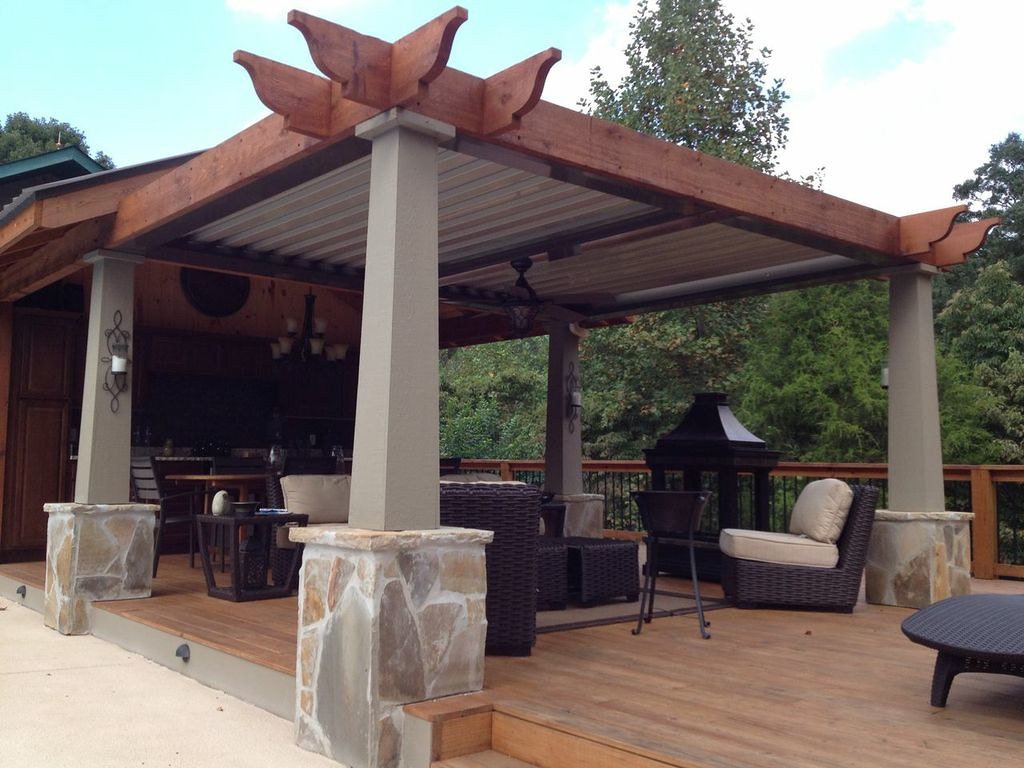 roofing options for pergolas