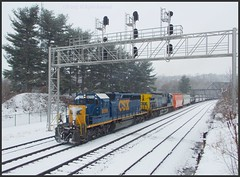 CSX 8099 and 429
