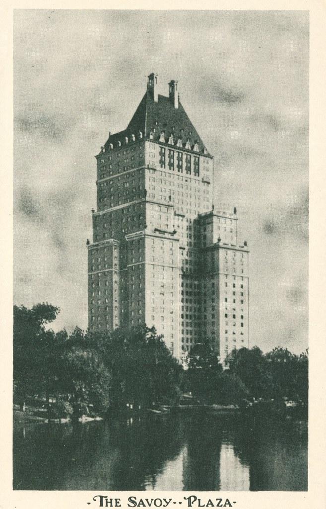 The Savoy Plaza - New York, New York