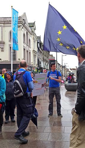 Pro-EU march, Cardiff