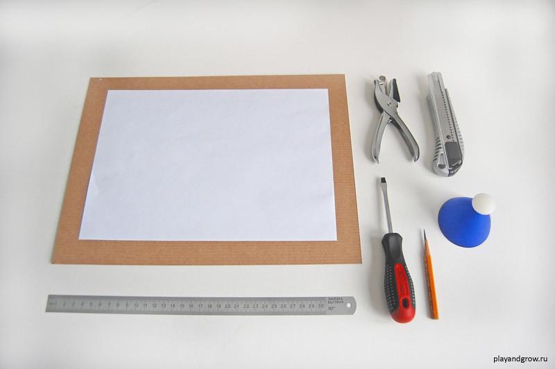 Рамки из бумаги а4 своими руками