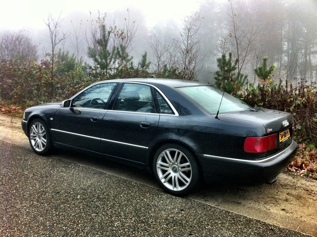 Audi S8 D2 With Winter Tyres Vincent Flickr