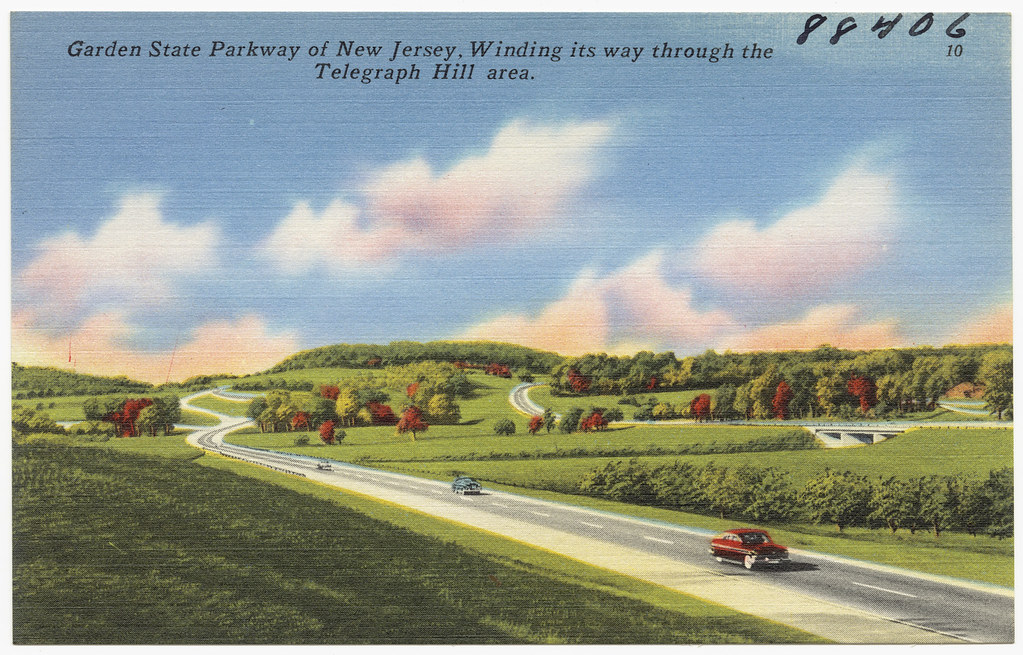 Garden State Parkway Of New Jersey Winding Its Way Throug Flickr