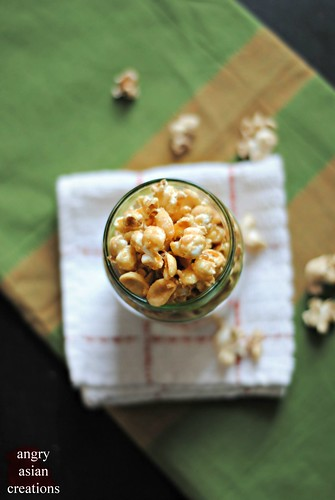 Caramel Popcorn {vegan} | by Lan | MoreStomachBlog