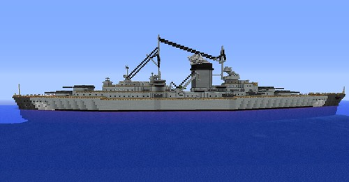 Minecraft Bismark | by SplatDaddy