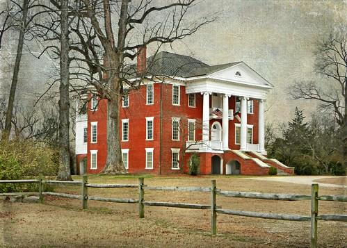 Stonewall Manor Ca 1825 1830 Rocky Mount North Carolin