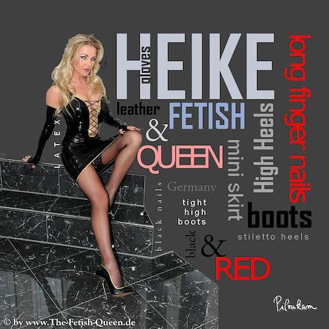 The fetish queen heike