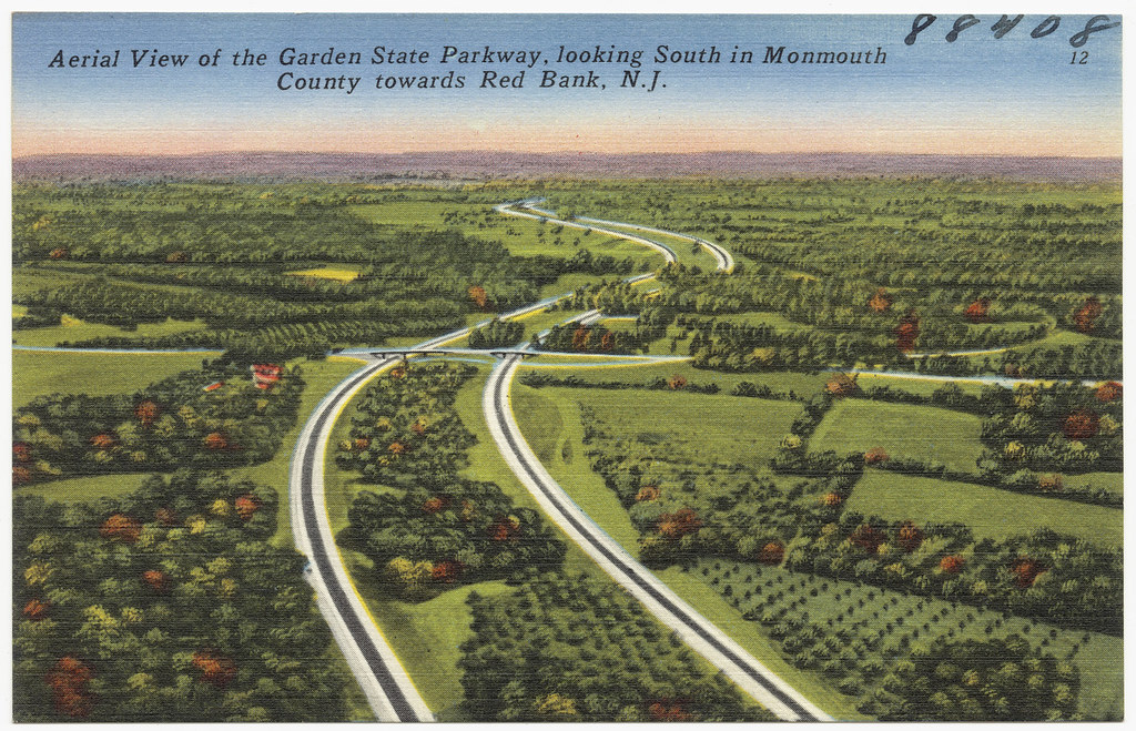 Aerial View Of The Garden State Parkway Looking South In Flickr
