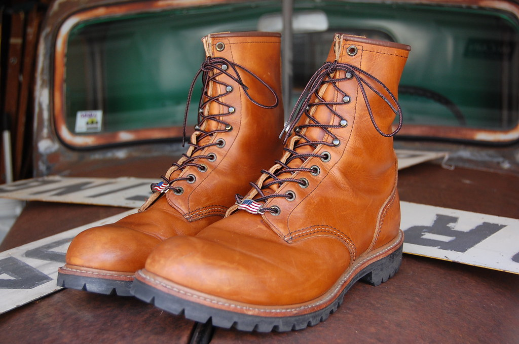 Red Wing 899 boots | Scooter Trash | Flickr