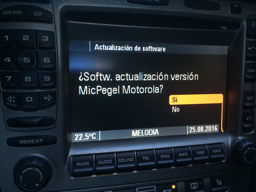update micpegel motorola porsche pcm2.1