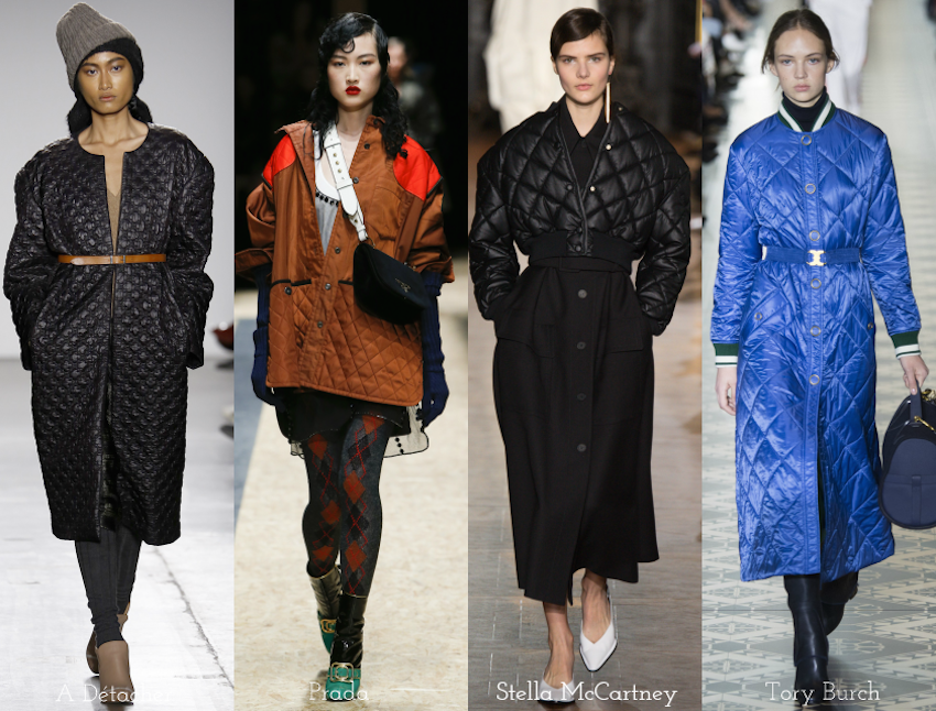 Trend Report: A/W 2016: Quilting
