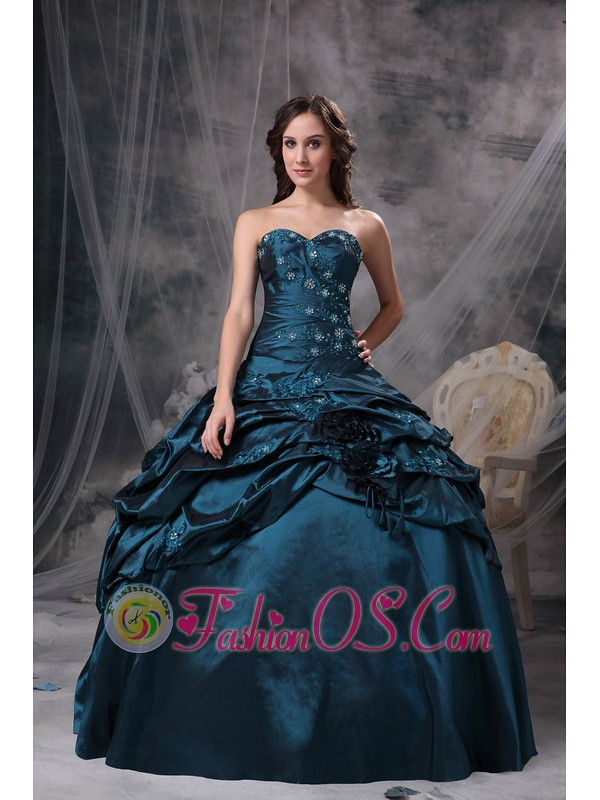 Teal Quinceanera Dresses 2013 Modest teal quinceaner...