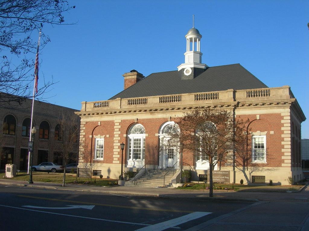 The Old Dalton Post Office Dalton GA Constructed In