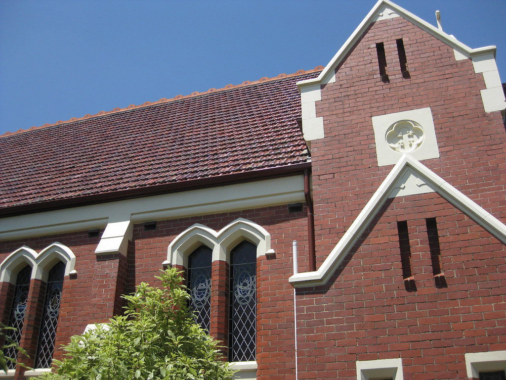 A Side Aspect Of St Josephs Catholic Church Guys Road Korumburra By Raaen99