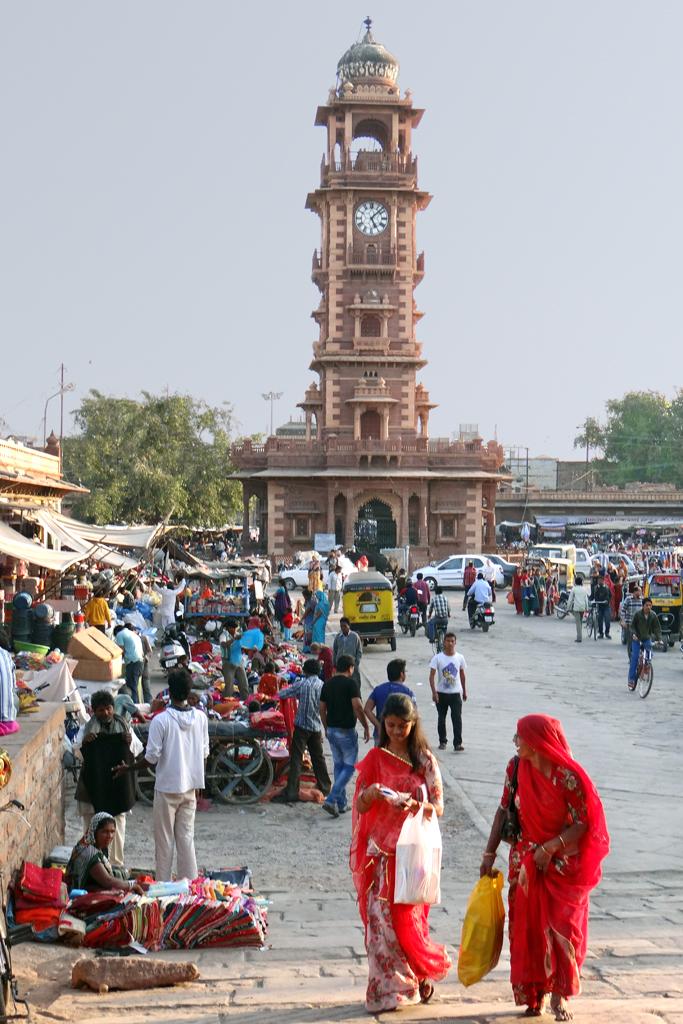 La tour de l'horloge (Jodhpur) | La tour de l'horloge ...