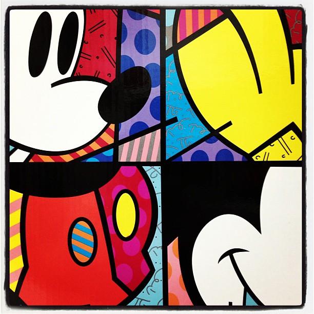 Britto Disney Art Disney Romero Britto