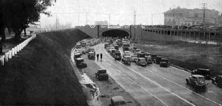 Santa Monica Tunnel Opening Ceremonies February 1 1936