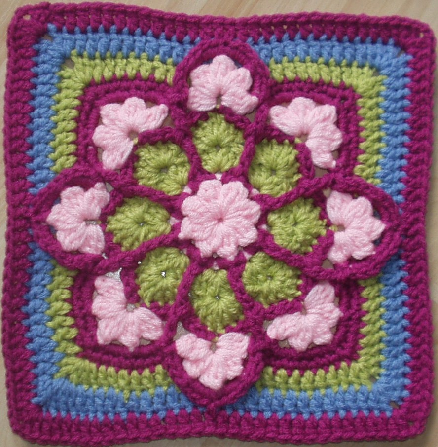 Stained Glass Crochet Afghan Pattern Free ~ Dancox for .