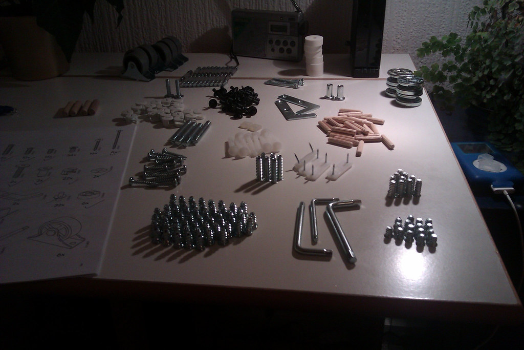 Ikea Brimnes bed parts: Self-assembly heaven or hell? | Flickr