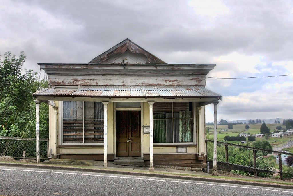 Old Drapery Store Nightcaps Southland New Zealand Flickr