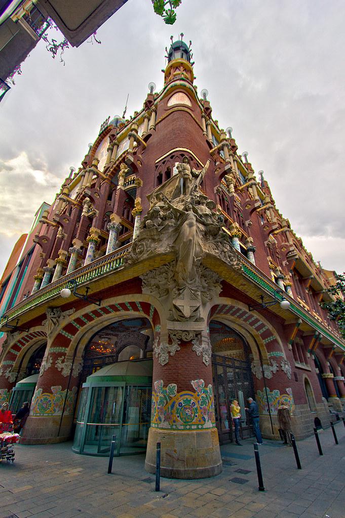 Casa de le musica catalana barcelona hdr 7 raw julien cauvin flickr - Casas de musica en barcelona ...
