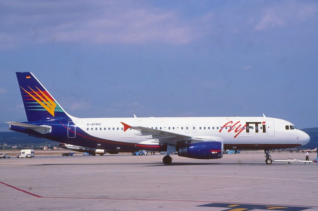 Fly FTI Airbus A320-231; D-AFRO, August 1999