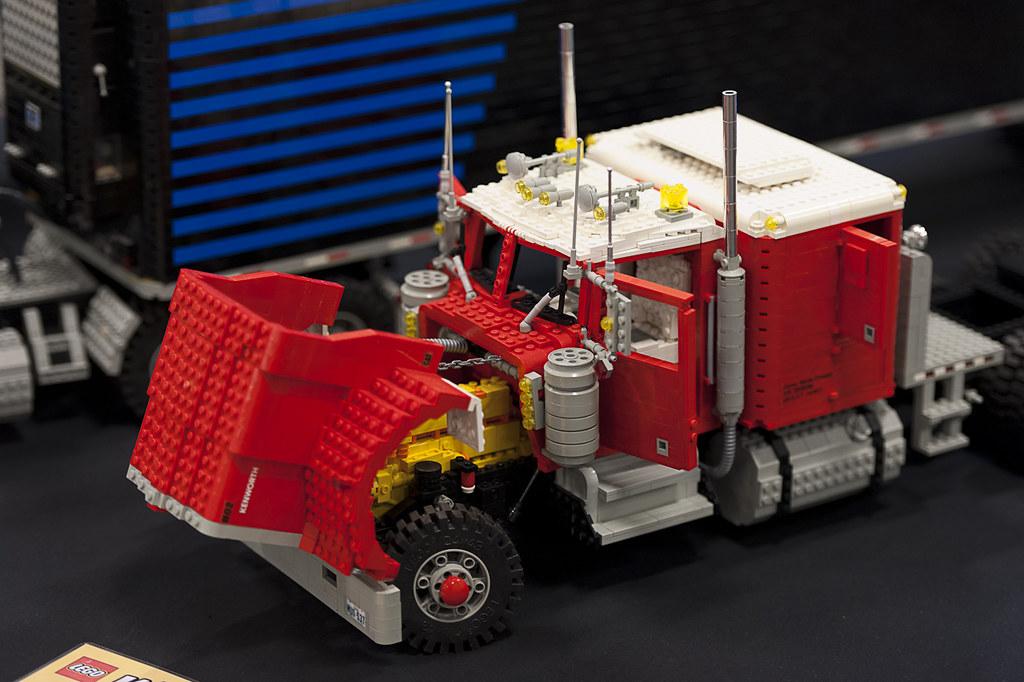Kenworth W900 Lego World 2013 The Oldest Truck In My