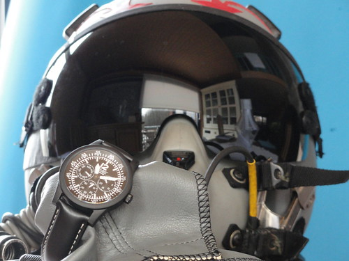 Gavox with a Fighter Jet Helmet | by MrTime2give