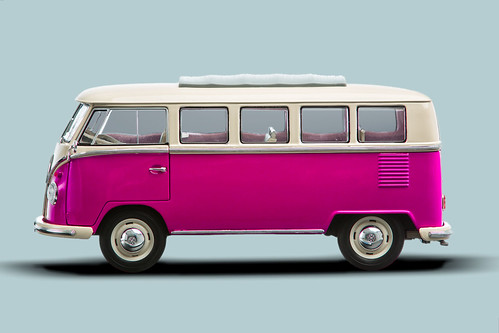 1962 vw classical bus bully in pink grey 1962 vw classical flickr. Black Bedroom Furniture Sets. Home Design Ideas