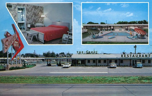 Sands Motor Hotel And Restaurant Tulsa Ok 5125 West